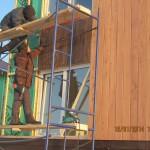 Обшивка каркасного дома планкен из лиственницы 20 140 (8)