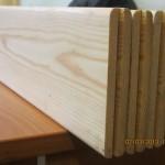 Планкен гладкий для внешней обшивки стен бани